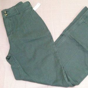 Free People Hattie Flare Green Pants All Sizes